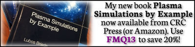 Plasma Simulations by Example book discount
