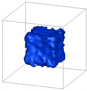 cube gas density