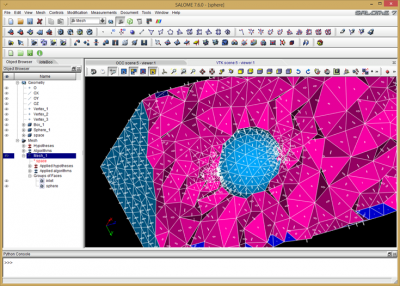 mesh generation in Salome